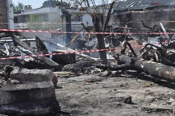 تفجير مجمع السفارة العراقية في كابول
