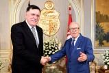 السراج يؤكد من تونس ان لا بديل عن الاتفاق السياسي في ليبيا