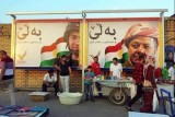 بارزاني يرفض دعوة الجامعة العربية الى عدم اجراء استفتاء الانفصال