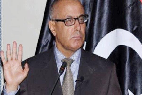 رئيس الحكومة الليبي السابق علي زيدان