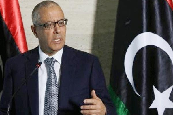 علي زيدان رئيس الحكومة السابق المختطف