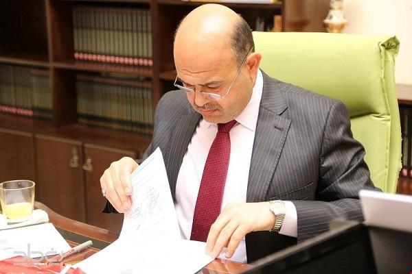 محافظ البصرة المستقيل ماجد النصراوي