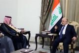 مباحثات عراقية سعودية لتعزيز العلاقات الاقتصادية والتجارية