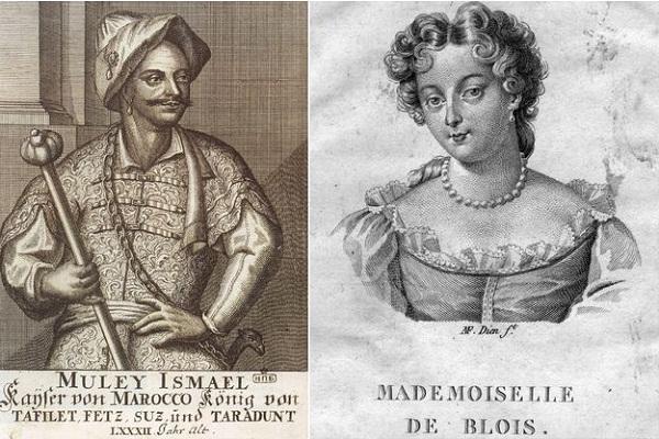 مولاي اسماعيل وابنة الملك لويس الرابع عشر