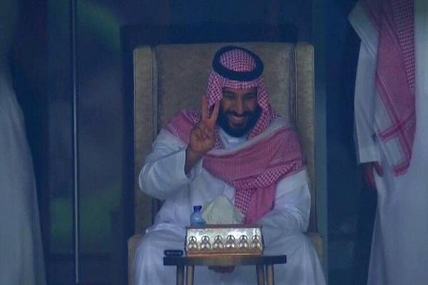 الأمير محمد بن سلمان وفرحة النصر بتأهل المنتخب السعودي لكأس العالم