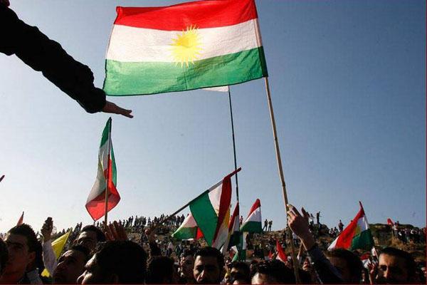 متظاهرون اكراد يدعون لاستقلال اقليم كردستان عن العراق