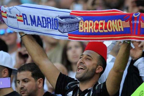 مشجعو الناديين الإسبانيين
