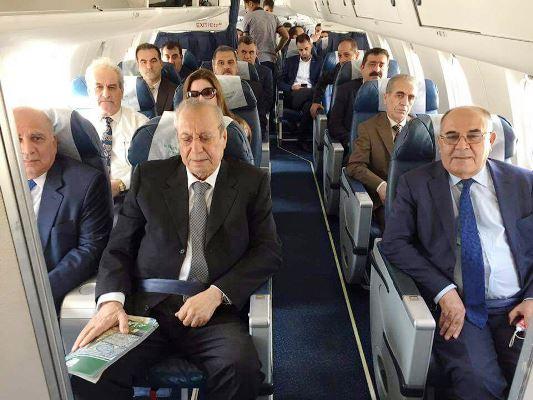 وفد إقليم كردستان إلى بغداد