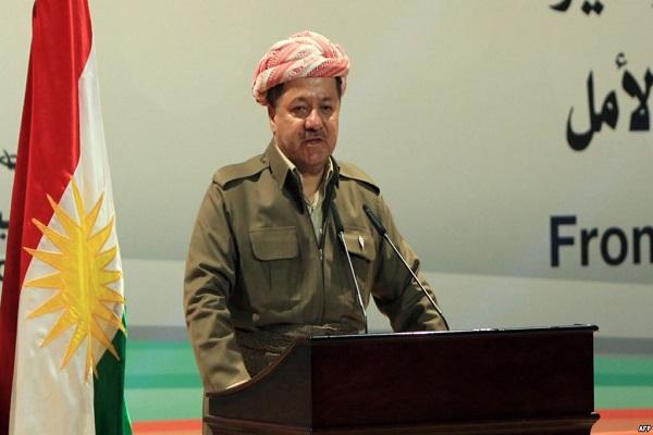 الاستفتاء حول استقلال كردستان رهان مسعود بارزاني