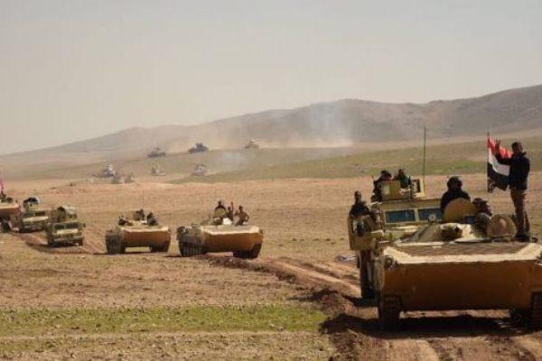 قوات عراقية تشن هجومًا لتحرير مدينة الحويجة