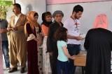أربيل: نسبة المشاركة في الاستفتاء بلغت 72.16 بالمائة
