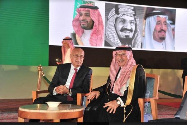 السفير السعودي ورئيس البرلمان المصري