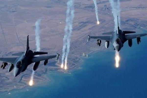 غارات جوية لمقاتلات التحالف العربي
