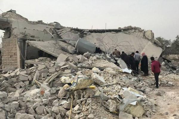 النظام السوري يرتكب مجزرتين في مسرابا