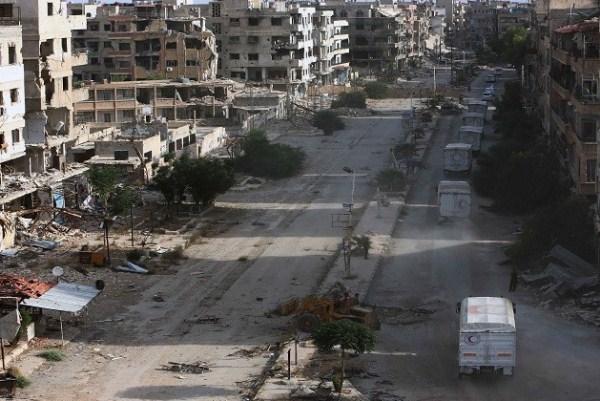 استمرار المعارك في عدة محافظات في سوريا
