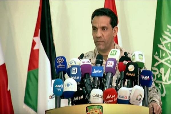 المتحدث الرسمي لقوات التحالف العربي لدعم الشرعية في اليمن العقيد الركن تركي المالكي