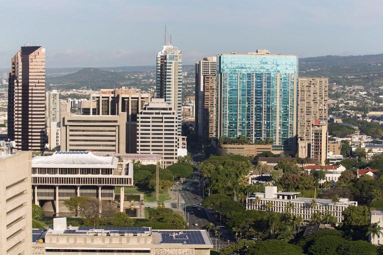 مشهد عام لمدينة هونولولو في هاواي الأميركية