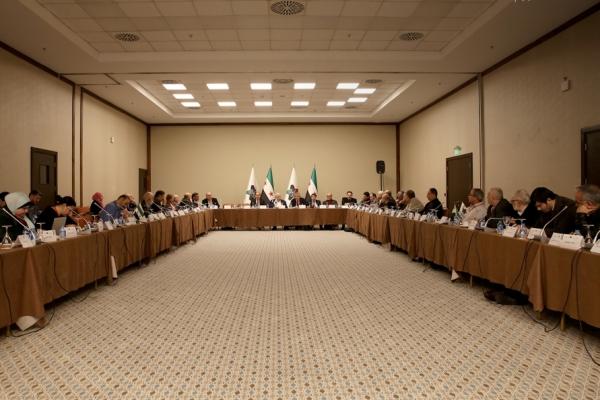 أعضاء الهيئة العامة للائتلاف السوري المعارض