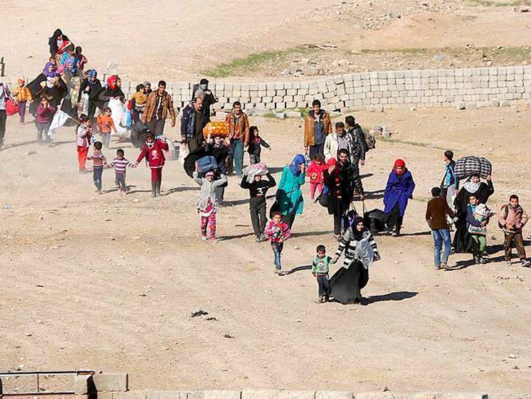 نازحون عراقيون عائدون الى مناطقهم
