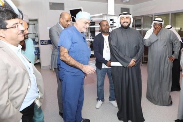 العملية تمت بمشاركة فريق طبي ألماني متخصص ونخبة من الأطباء الكويتيين