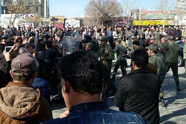 جانب من احتجاجات طهران