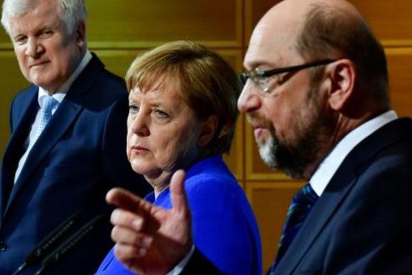 اتفاق مبدئي لتشكيل حكومة جديدة  في المانيا