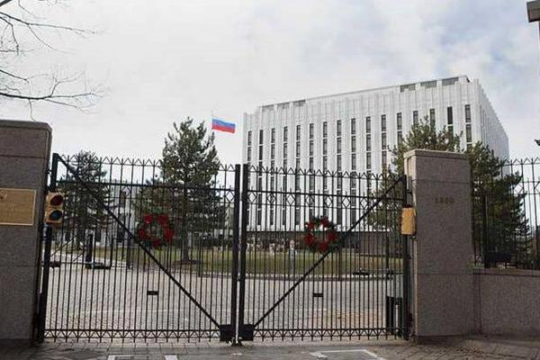شارع السفارة الروسية في واشنطن