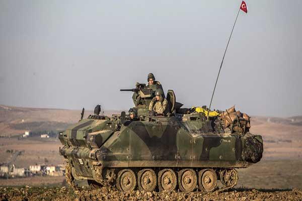 تركيا تشن أعنف حملة قصف على مواقع