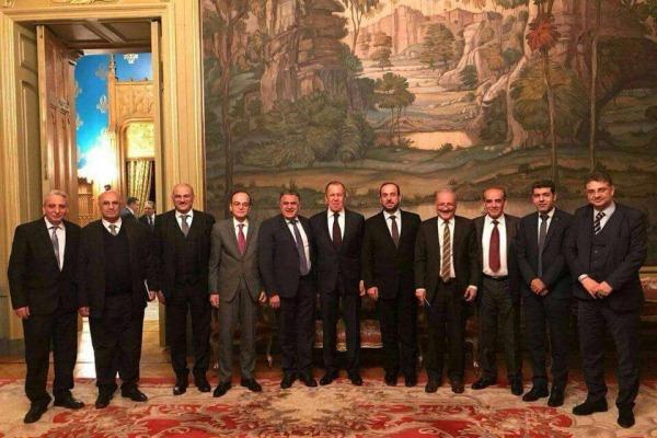 المعارضة السورية تلتقي لافروف... نحو تطبيق القرار 2254