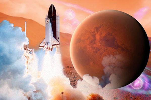 تخفيض وقت الرحلة الى المريخ بنسبة 50٪
