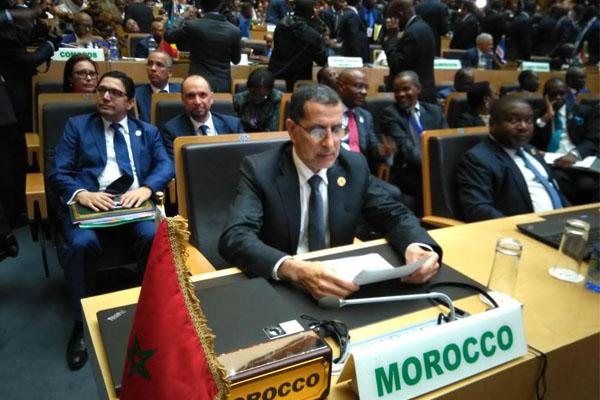 العاهل المغربي يقترح انشاء مرصد إفريقي للهجرة