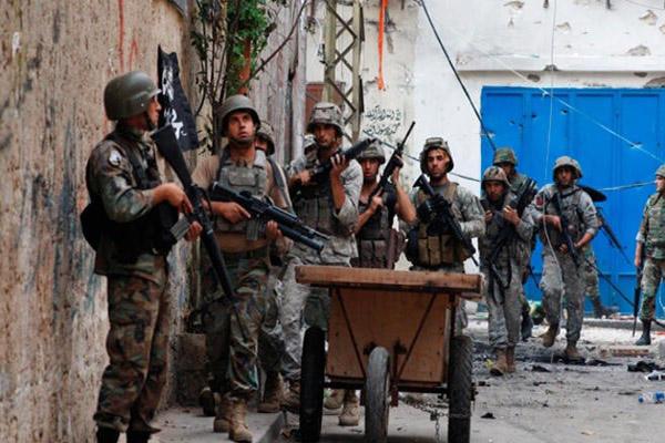 الجيش اللبناني منتشر في منطقة باب التبانة التابعة لمدينة طرابلس