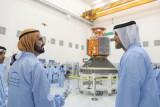 محمد بن راشد: دشنا أول قمر صناعي عربي بأياد وطنية 100%