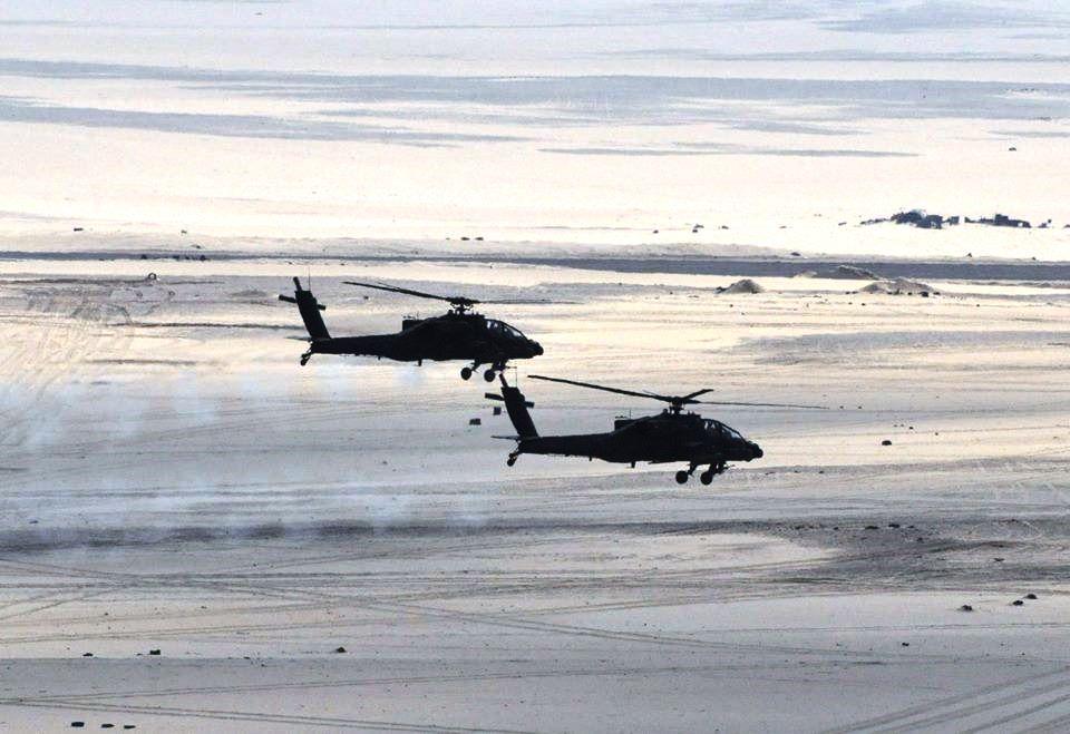 سلاح الجو المصري يشارك بكثافة في عملية سيناء