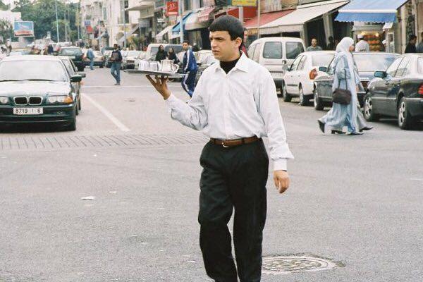 عبد الصمد مفتاح الخير في أحد أدواره السينمائية