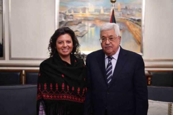 الرئيس عباس وسيمونيان