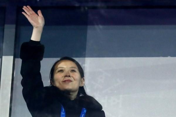 كيم يو جونغ شقيقة الزعيم الكوري الشمالي كيم جونغ اون في بيونغ تشانغ