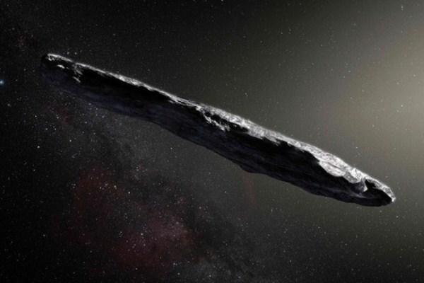الكويكب غريب الشكل اومواموا