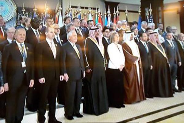 الاجتماع الوزاري للتحالف الدولي ضد داعش في الكويت