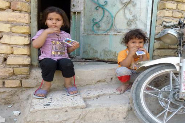 فقراء عراقيون