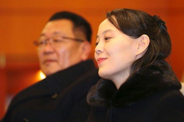 كيم يو جونغ أخت زعيم كوريا الشماية بعد وصولها الى كوريا الجنوبية