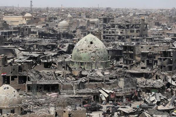 الموصل ثاني أكبر مدن العراق والاولى في الدمار