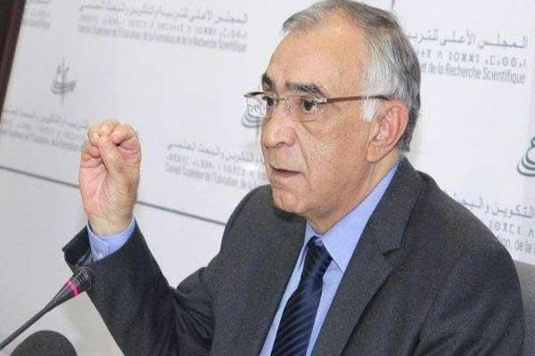 عمر عزيمان رئيس المجلس الأعلى للتربية والتكوين بالمغرب
