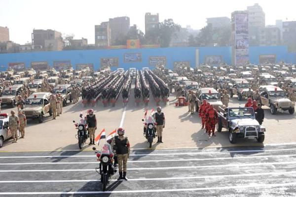 عملية سيناء 2018 تشارك فيها القوات العسكرية جميعها