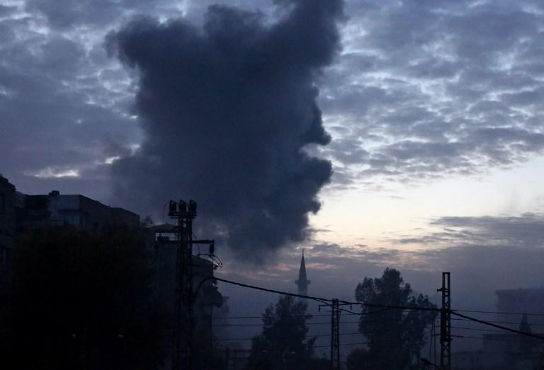 80 قتيلا في قصف للنظام السوري على الغوطة الشرقية