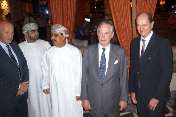 جانب من اللقاءات البريطانية العمانية