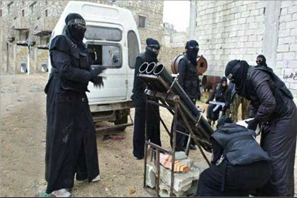 مسلحات داعش