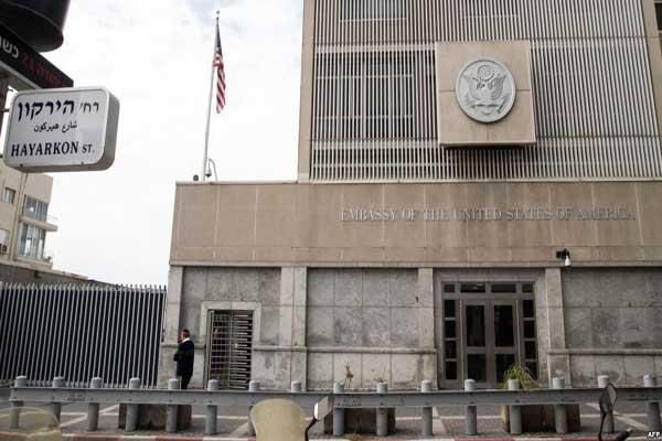مبنى السفارة الأميركية في تل أبيب