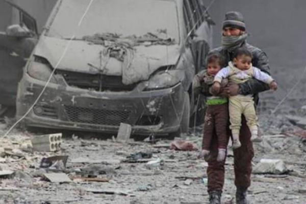 40 شاحنة من المساعدات الانسانية مستعدة للتوجه الى الغوطة
