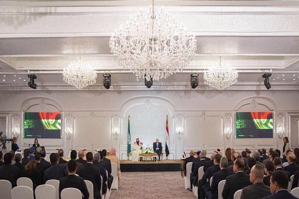 الرئيس السيسي والأمير محمد بن سلمان خلال توقيع اتفاقيات التعاون